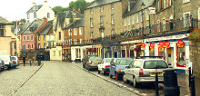Queensferry Town Centre, West Lothian © Simon Johnston
